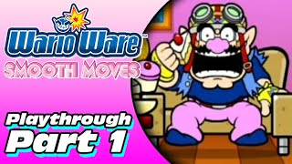 WarioWare: Smooth Moves Playthrough (Part 1)