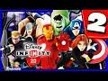 Disney Infinity 2.0 Walkthrough Part 2 (Energy Crisis) The Avengers Playset