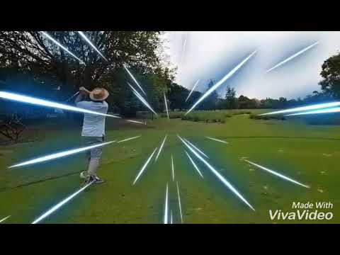 Old man golf swing @ vintage golf bangkok 2018