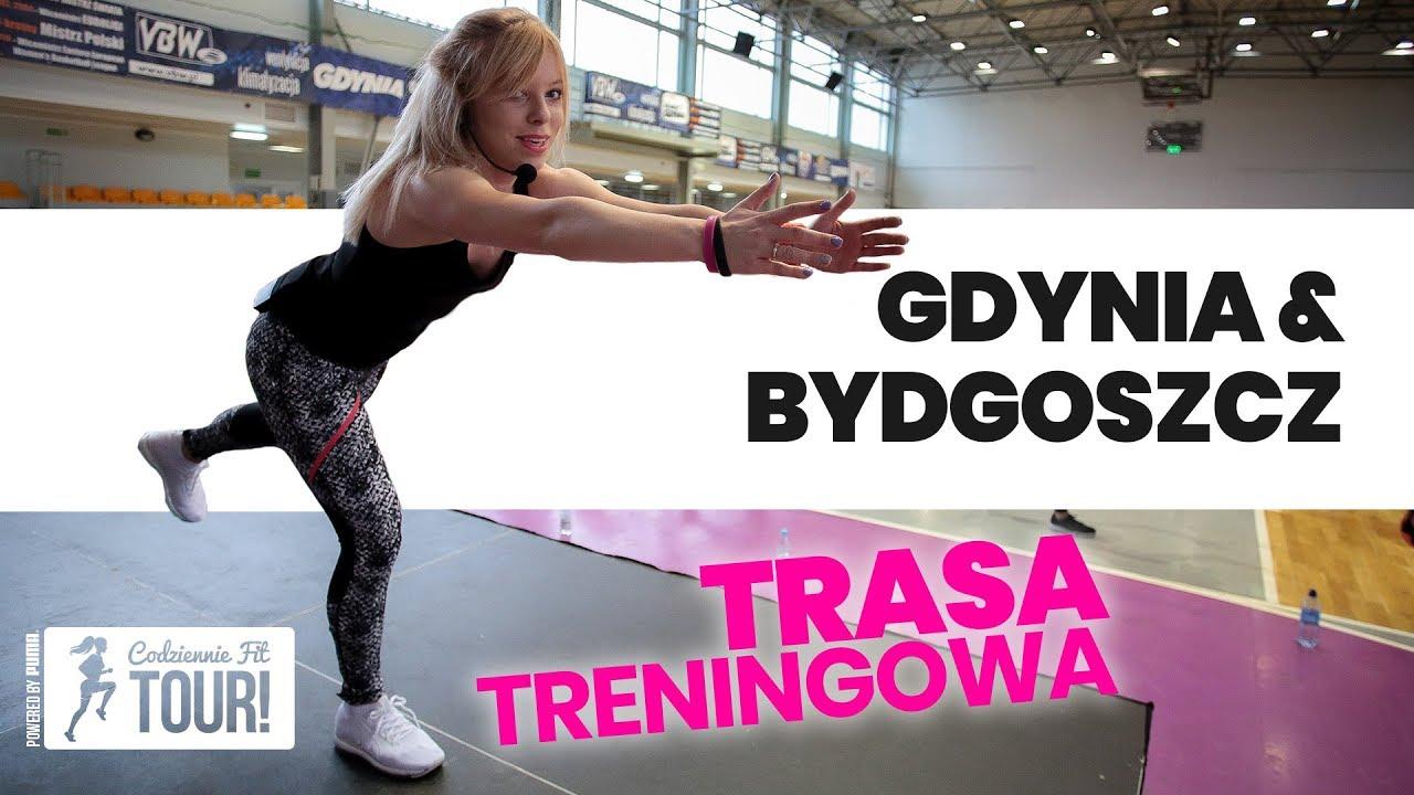 Treningi w Gdyni i Bydgoszczy – Relacja! | Codziennie Fit VLOG