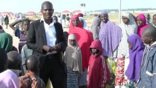vuclip 'Yan gudun hijirar Boko Haram