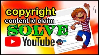 HOW I REMOVE COPYRIGHT CONTENT ID CLAIM WITHOUT DELETING THE VIDEO