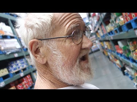 GRANDPA'S GROCERY STORE RAMPAGE!!