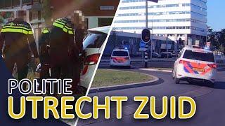 Politie Utrecht Zuid  Michael en JanWillem  Diefstal | Inzet pepperspray | Woningbrand | verkeer