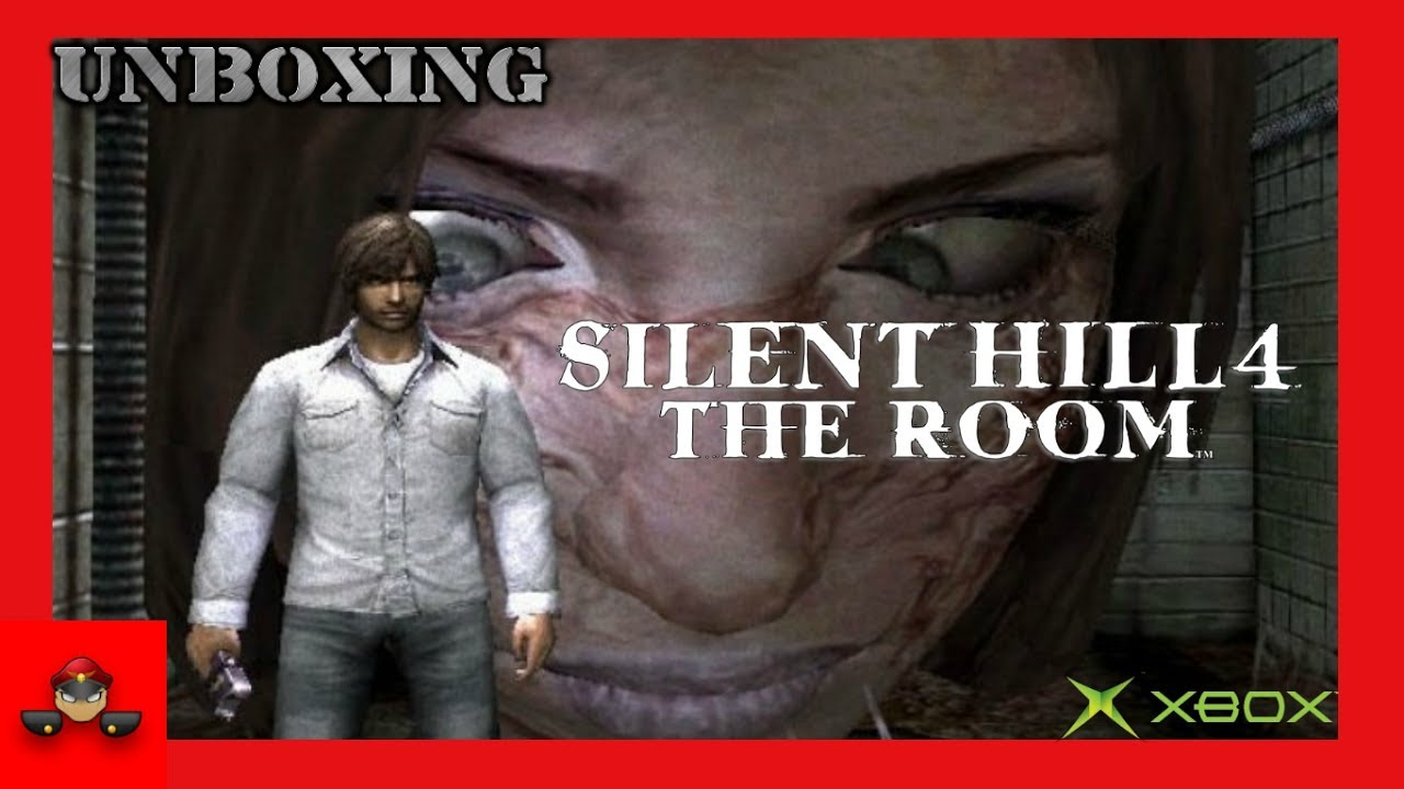 Unboxing Silent Hill 4 The Room Xbox Original HD 1080P