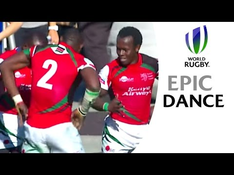 Kenya's EPIC dance-off as they celebrate win in Las Vegas