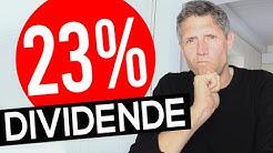 23% Dividende: Kauf-Chance nach Crash?