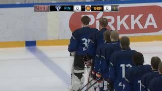 LIVE: U16 FIN-GER // to 17.10.2019 klo 18:30 Vierumäki