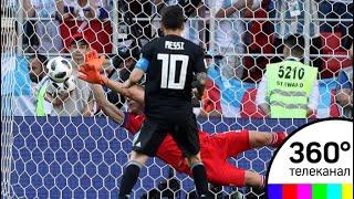 Сборные Аргентины и Исландии сыграли вничью