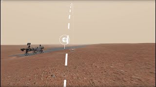 Access Mars Web VR: A Virtual Walk on Mars