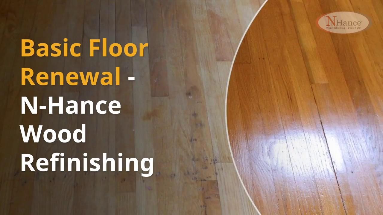 Basic Wood Renewal Nhance Refinishing