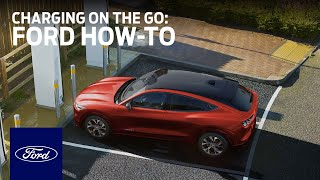 homepage tile video photo for Ford Mustang Mach-E: Charging On The Go   Ford How-To   Ford