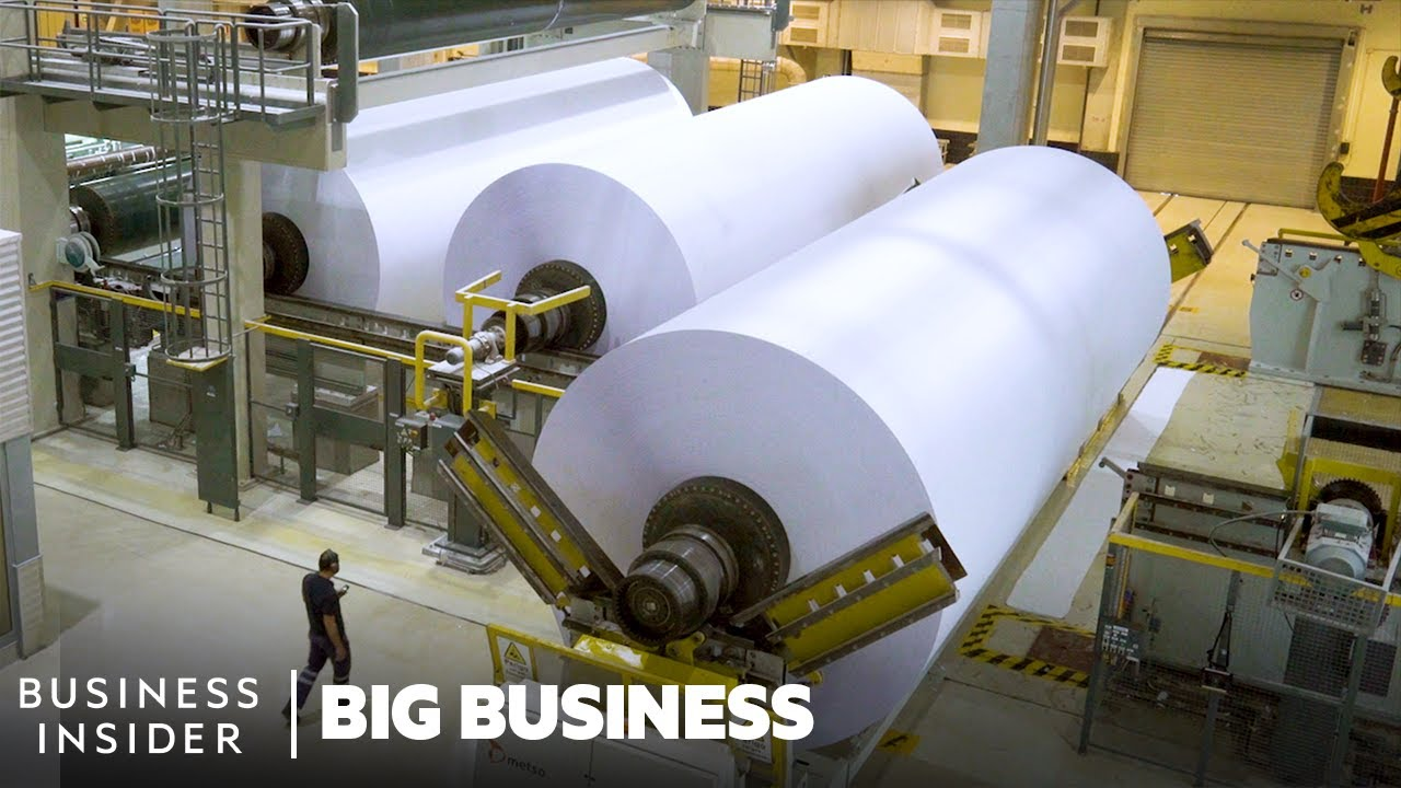 How 1.6 Million Tonnes Of Paper A Year Are Made In Portugal | Big Business