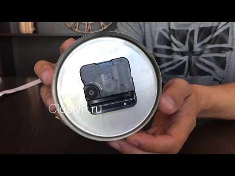 3D часы обзор и инструкция. Настенные часы своими руками.