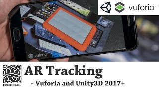 2017 Birlik içinde Vuforia ile AR bir uygulama oluşturma