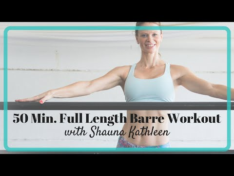 FREE Full Length 50 Min. Barre Workout You Can Do at Home