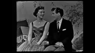 GISELE MacKENZIE & Jimmie Rodgers sing Sugartime on The Gisele MacKenzie Show 1958