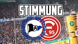 STIMMUNGSVIDEO DSC Arminia Bielefeld - Fortuna Düsseldorf | DFB Pokal 12.08.2017