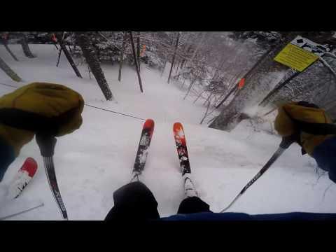 Cannon Mountain Powder Day 2.13.17