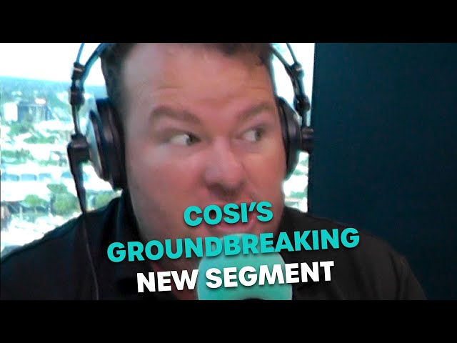Cosi's Groundbreaking New Segment | Bec Cosi & Lehmo