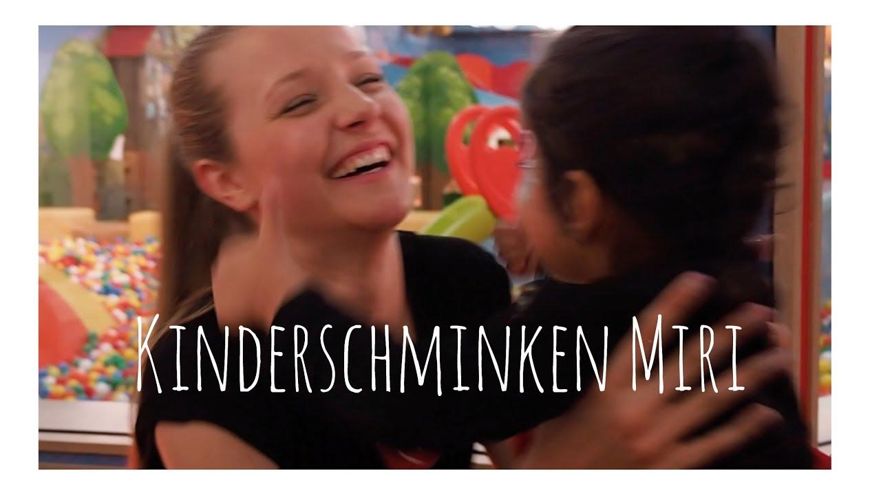 Kinderschminken Miri 💗 (Werbevideo)