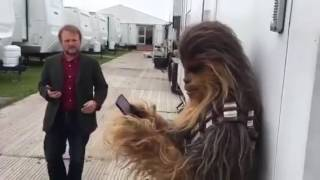 Chewbacca loves Mask Mom Chewie