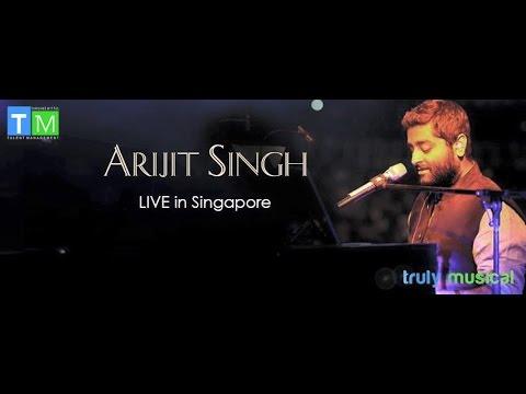 Arijit Singh Live Singapore 2016 Part 17 (Humdard,Pehli Nazar,Jo Wadah Kiya, Lag Ja Gale)