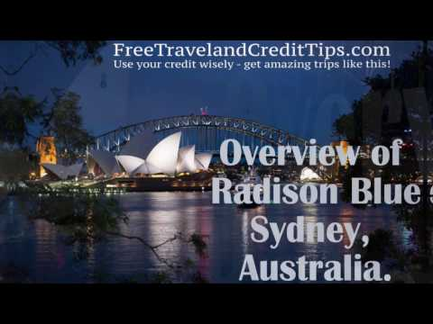 Radisson Blu Plaza Hotel Sydney, Australia (shot With GOPRO) Overview And What I Got For Free!