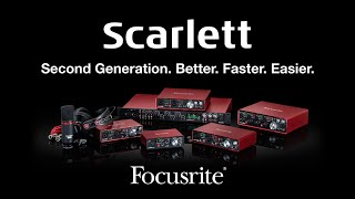 Video Focusrite // The New Second Generation Scarlett Range download MP3, 3GP, MP4, WEBM, AVI, FLV November 2017