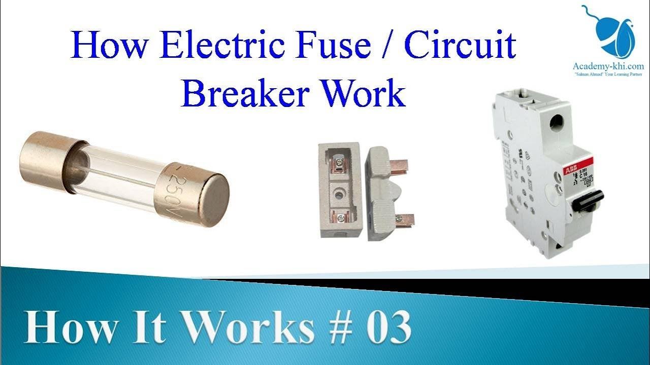 How Circuit breaker work   How it works # 03   Electric Fuse   House on how frame a house, how paint a house, how roofing a house, how building a house,
