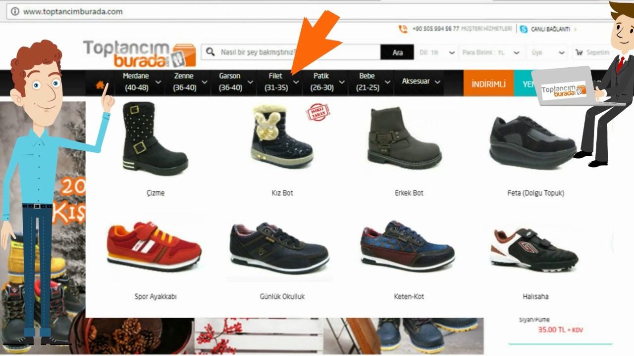 0fadf8e28c3ba Toptancimburada.com - Toptan Ayakkabı, Giyim ve Aksesuar Sitesi