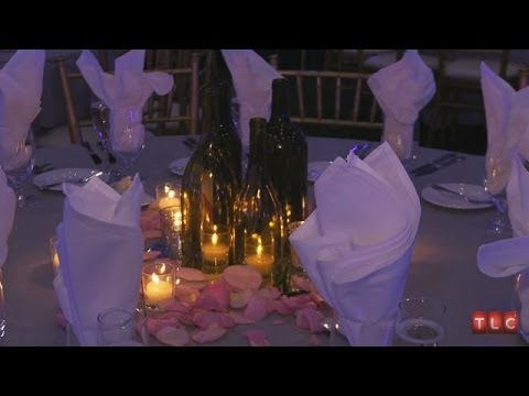 How To Make Wine Bottle Centerpieces Four Weddings Youtube