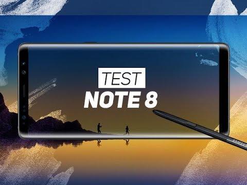 TEST : Samsung Galaxy Note 8 - W38