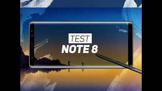 TEST : Samsung Galaxy Note 8 - W38