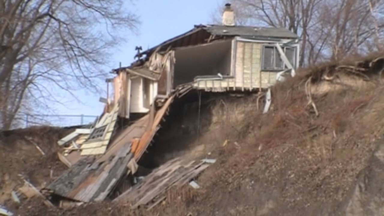 Billy Van S Abandoned Cottage Falling Off A Cliff Youtube
