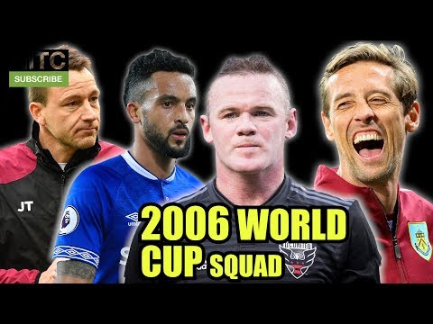 England's 2006 World Cup Squad: Where Are They Now?