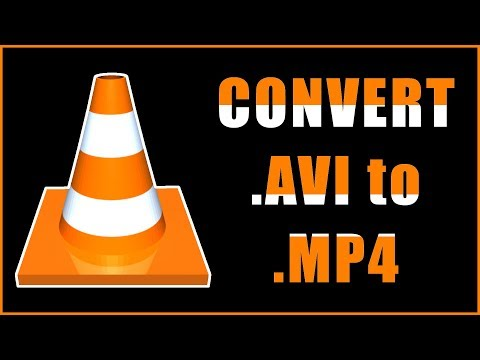 How to Convert AVI to MP4 using VLC Media Player
