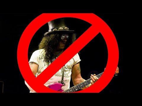 Slash não toca NADA, so muleque gosta!