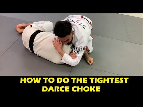 How To Do The Tightest Darce Choke by Edwin Najmi