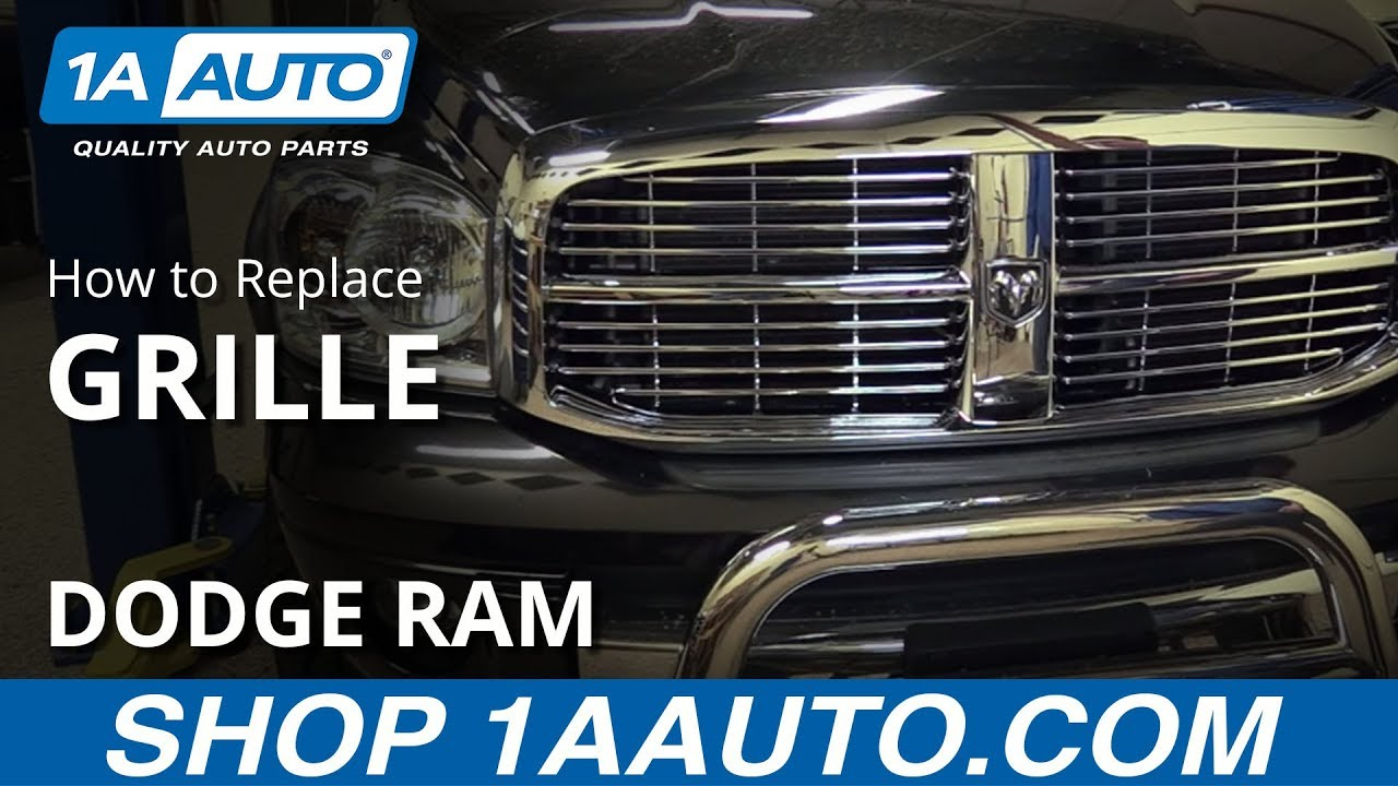 How to Replace 06-08 Dodge Ram 1500 Grille