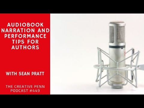 Audiobook Narration And Performance Tips For Authors With Sean Pratt