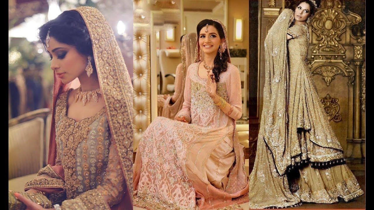 LATEST WEDDING BRIDAL SHARARA DESIGNS COLLECTION