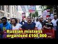 Russian mistress organised £100,000 revenge burglary which saw thugs break into her businessman love