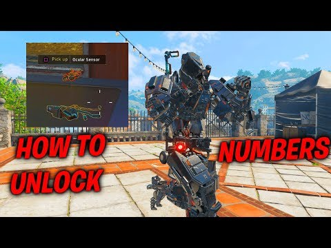 HOW TO UNLOCK NUMBERS OUTFIT FOR REAPER IN BO4! EASY WAY TO UNLOCK REAPER NUMBERS OUTFIT