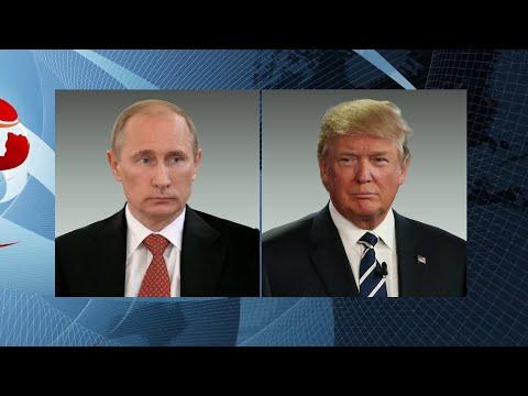 Состоялся телефонный разговор Владимира Путина с президентом США Дональдом Трампом.