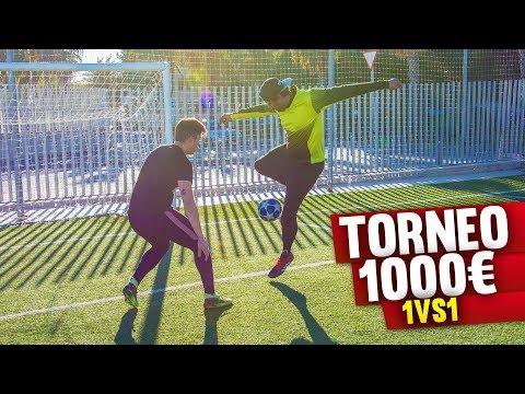 TORNEO 1vs1 *1.000€* Retos de Fútbol