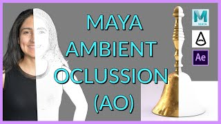 Maya Tutorial: Ambient Occlusion (AO) Pass using Arnold