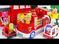 Pororo Melody Fire Truck play | There's a Fire at the campsite~! | PinkyPopTOY