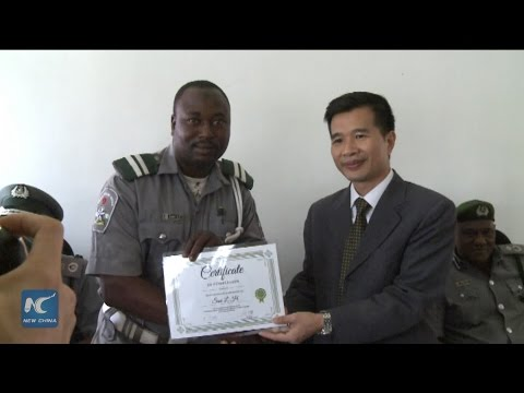 Nigeria's customs service promotes Mandarin learning among officers