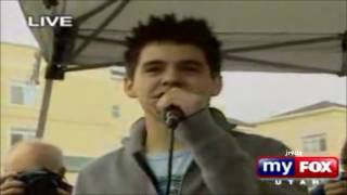 02-14 David Archuleta @ LIVE Utah Homecoming - AUTOGRAPH SIGNING GATEWAYMALL